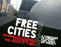 Flint Public Art Project_NYC fundraiser
