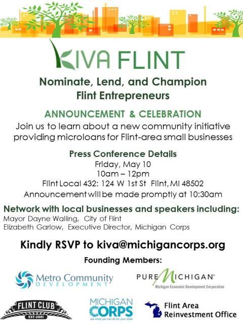 Kiva Flint Announcement